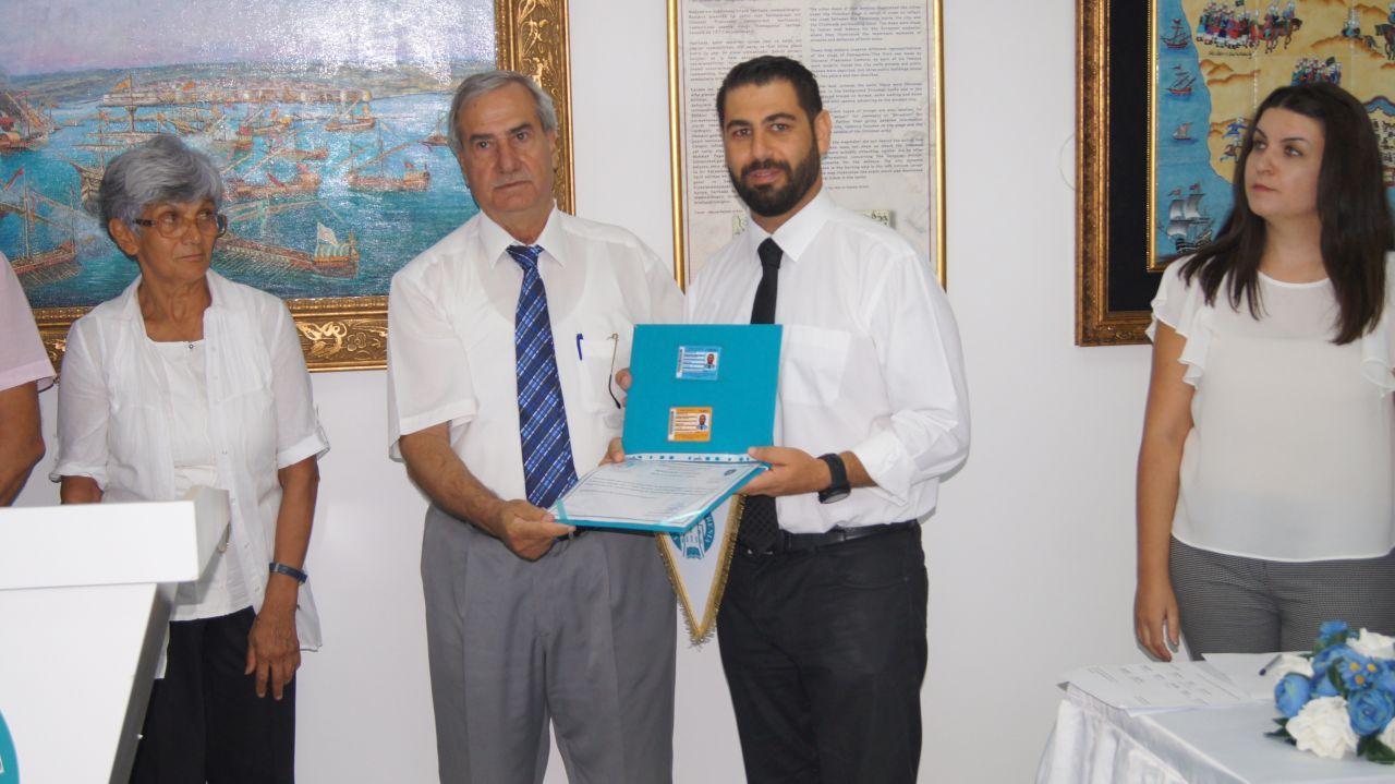 Girne Üniversitesi Vakfı, Yılda İki Kez Düzenlenen ve İkincisi Tamamlanan 11. Amatör Denizci ve Kısa Mesafe Telsiz Operatörü Yeterlilik Kursunu Bitirenlere Belgeleri Verildi