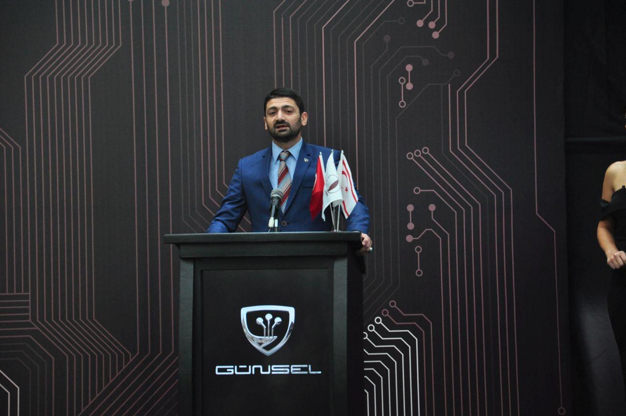 """KKTC'nin İlk Yerli Arabası """"GÜNSEL"""" Tanıtıldı"""