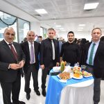 University of Kyrenia staff gathered together for the New Year Cocktail Celebration