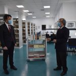 İşbank Delivered the First Group of Books Which They Donated As a Gift to Grand Library